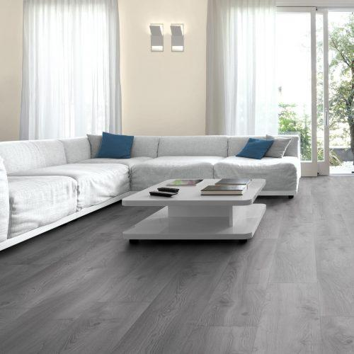 MY FLOOR Residence ML1019 Makro Oak Light Grey aranżacja e1563896884185 500x500 - Panele podłogowe ML1019 Makro Oak Light Grey | Residence 10 mm AC5 | My Floor