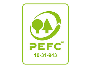 PEFC logo - Panele podłogowe MV805 Timeless Oak Natural | Cottage 8 mm AC5 | My Floor